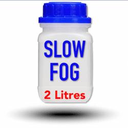 Look Slow-Fog Fluid 2 Litres - Liquide pour machine à fumée et à brouillard Liquide machine à fumée