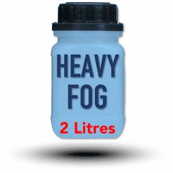 Look Heavy-Fog Fluid 2 litres - Liquide pour machine à fumée et à brouillard Liquide machine à fumée