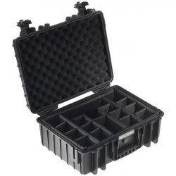 Caisse étanche b&w type 5000 noir Flight Case