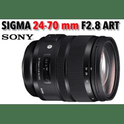 Sigma 24-70 mm F/2.8 DG DN ART - Mouture Sony (E) Monture Sony