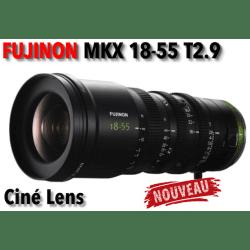 Fujifilm MKX 18-55mm T2.9 Objectif (Sony E-Mount) Téléobjectif - Objectif à monture Sony E