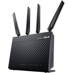 Modem Routeur Asus 4G - Lte Wi-fi Ac 1900 Mbps Double Bande avec Beamforming Air-Radar et Sécurité Air-Protection Routeur Modem
