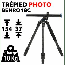 Trépied Benro FGP 18C - Avec colonne inclinable Trépied Photo