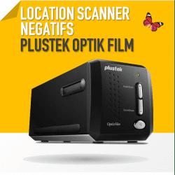 Scanner de Diapo et Négatif photo - Plustek OpticFilm 8200 i SilverFast Ai