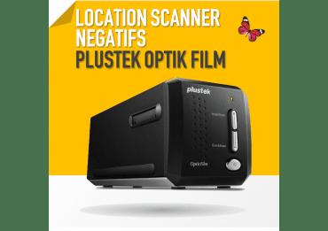Scanner de Diapo et Négatif photo - Plustek OpticFilm 8200 i SilverFast Ai Scanner Photo - Film - Diapo