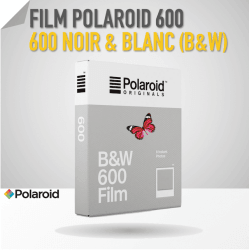 Film Polaroid600 Noir & Blanc - 8 poses Film pour Polaroid