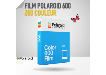 Film Polaroid 600 Couleur - 8 poses - Cadre Blanc Film pour Polaroid