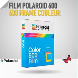 Film Polaroid 600 Couleur - 8 poses - Cadre Coloré Film pour Polaroid