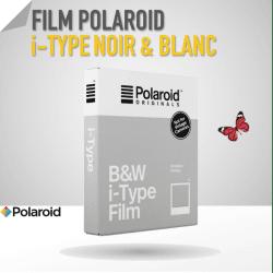 Film Polaroid i-Type Noir & Blanc - 8 poses Film pour Polaroid