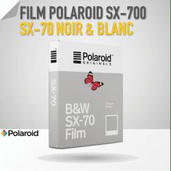 Film PolaroidSX-70 Noir & Blanc - 8 poses Film pour Polaroid
