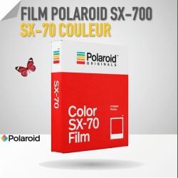 Film PolaroidSX-70 Couleur - 8 poses Film pour Polaroid