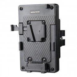 Support de batterie Nanlite V-Mount pour Forza 60 A CREER