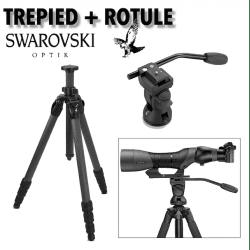 Trépied Swarovski + Rotule photo / Vidéo OBJECTIF PHOTO PAR MARQUE