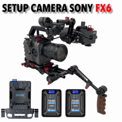 Setup Caméra pour Sony FX6 Cages & Cross épaule