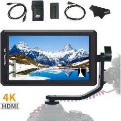 Moniteur Caméra 4K 5.7 Pouces - Feelworld F6 Ecran vidéo / Prompteur