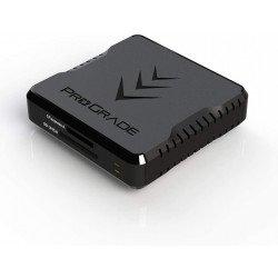 ProGrade Lecteur de Carte à Double Slot CFexpress Type A et SDXC/SDHC UHS-II - USB 3.2 Carte CF Express