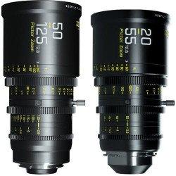 DzoFilmBundlePictor50-125 + 20-55 T 2.8 - MontureEF/PL Vidéo - Canon EF