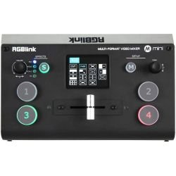 Console de mixage vidéo HDMI RGBlink Mini+ Caméra Tourelle PTZ