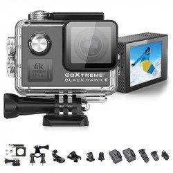 GoXtreme BlackHawk+ 4K - Caméra d'action Stabilisée