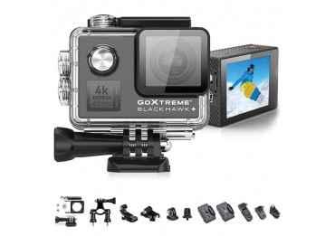 GoXtreme BlackHawk+ 4K - Caméra d'action Stabilisée Action Cam