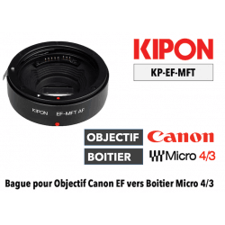 Kipon adaptateur AF - Boitier MFT vers Objectif Canon EF Monture (MFT)