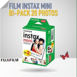 Film Instax Mini - 20 poses couleur Film pour Fuji Instax