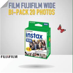 Film Instax Wide - 20 poses couleur Film pour Fuji Instax