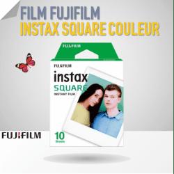 Film Instax Square - 10 poses couleur Film pour Fuji Instax