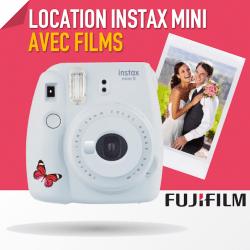 Pack Fuji Instax Mini 8 ou 9 - Avec Films Pack Fuji Instax