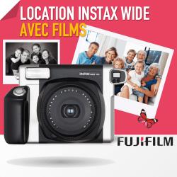 Location Fujifilm Pack Instax Wide