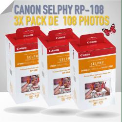 3x Pack Canon RP-108 pour imprimante Canon CP VENTE