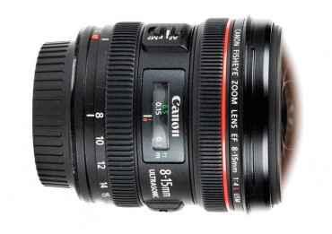 Canon 8-15mm f/4 L Fisheye USM Produits d'occasion
