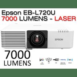 VidéoprojecteurEpson EB-L720U Full HD - 7000 Lumens Accueil