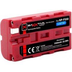 Batterie NP-F550 Li-ion - (3100 mAh) Batteire Sony