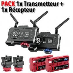 Hollyland Mars400S PRO - 1x Transmetteur + 1x Récepteur Liaison vidéo HF