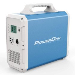 Générateur d'énergie Power Station 2000 Watts - PowerOak PS10 2.400Wh solar AC/DC Pile & Accu