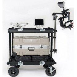 Roulante cinéma - Movie cart Adicam Standard + Accessoire Steadycam - Glidecam