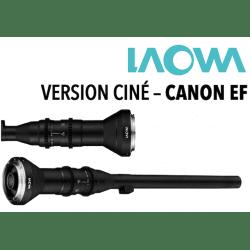 LAOWA 24 mm F1.4 - Macro 2x Probe Ciné - Monture Canon EF Macro - Canon EF
