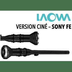 LAOWA 24 mm F14 - Macro 2x Probe Ciné - Monture Sony FE DISPO 3-5 JOURS