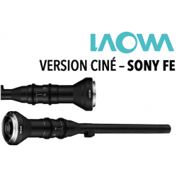 LAOWA 24 mm F14 - Macro 2x Probe Ciné - Monture Sony FE Macro