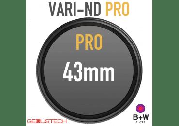 Filtres Vari-ND pro de 43 à 82mm Eclipse / Genus / B&W Filtres ND