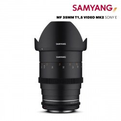 Samyang 35 mm Ciné Sony (E) Monture Sony (E)