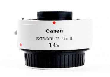 Canon EF 1,4X III Teleconvertisseur Bague et Doubleur - Canon EF