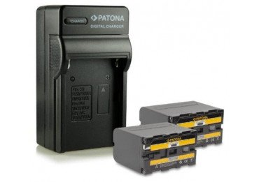 Kit 2X Batteries Sony NP-F970 + Chargeur Batteire Sony