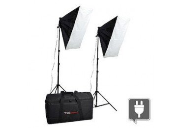 Kit Eclairage continu Daylight 600 + 2 softboxes