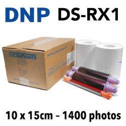 Papier 10X15 DNP RX1 - 1400 Titages DNP RX1