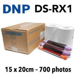 Papier 15X20 DNP RX1 - 700 Titages VENTE