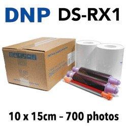 Papier 10X15 DNP RX1 - 700 Titages DNP RX1