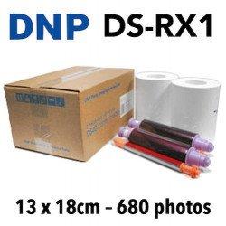 Papier 13X18 DNP RX1 - 680 Titages DNP RX1