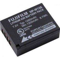 Batterie NP-W126 Fujifilm Li-Ion Batterie Fuji